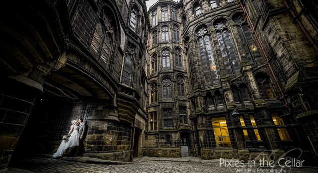 Manchester town hall and hyde bank farm wedding
