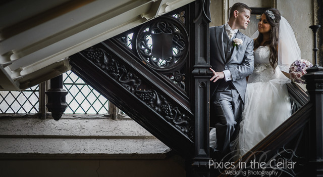 All Angels & St.Michaels Church and The White Hart Lydgate Wedding