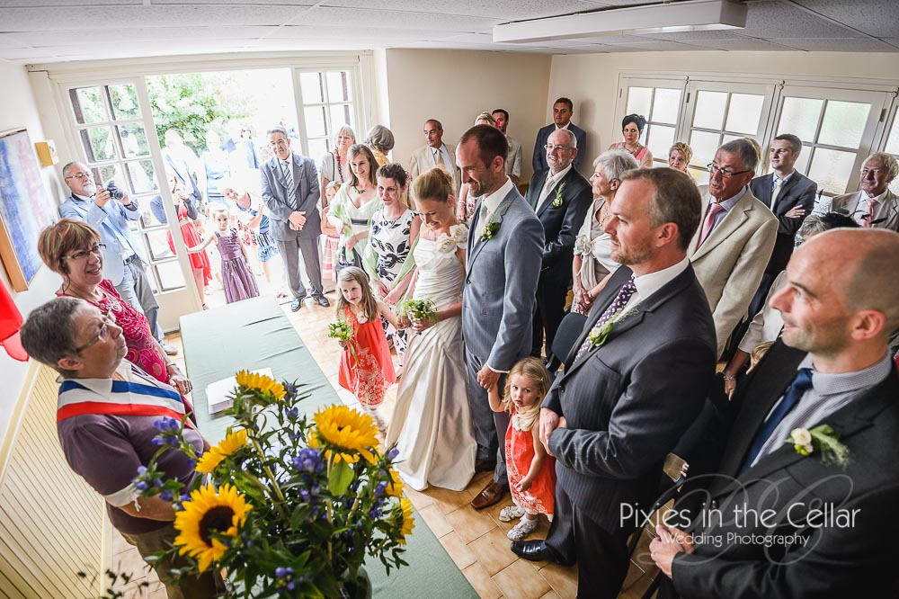 French Mairie Wedding