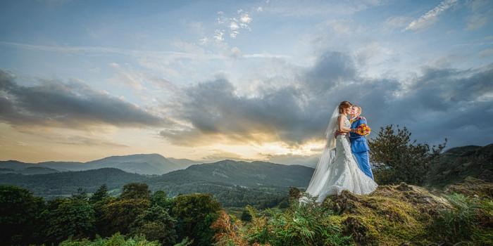 Lake District wedding at Dale lodge hotel