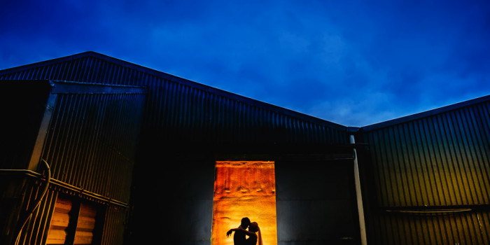 Alrewas hayes wedding photography silhouette