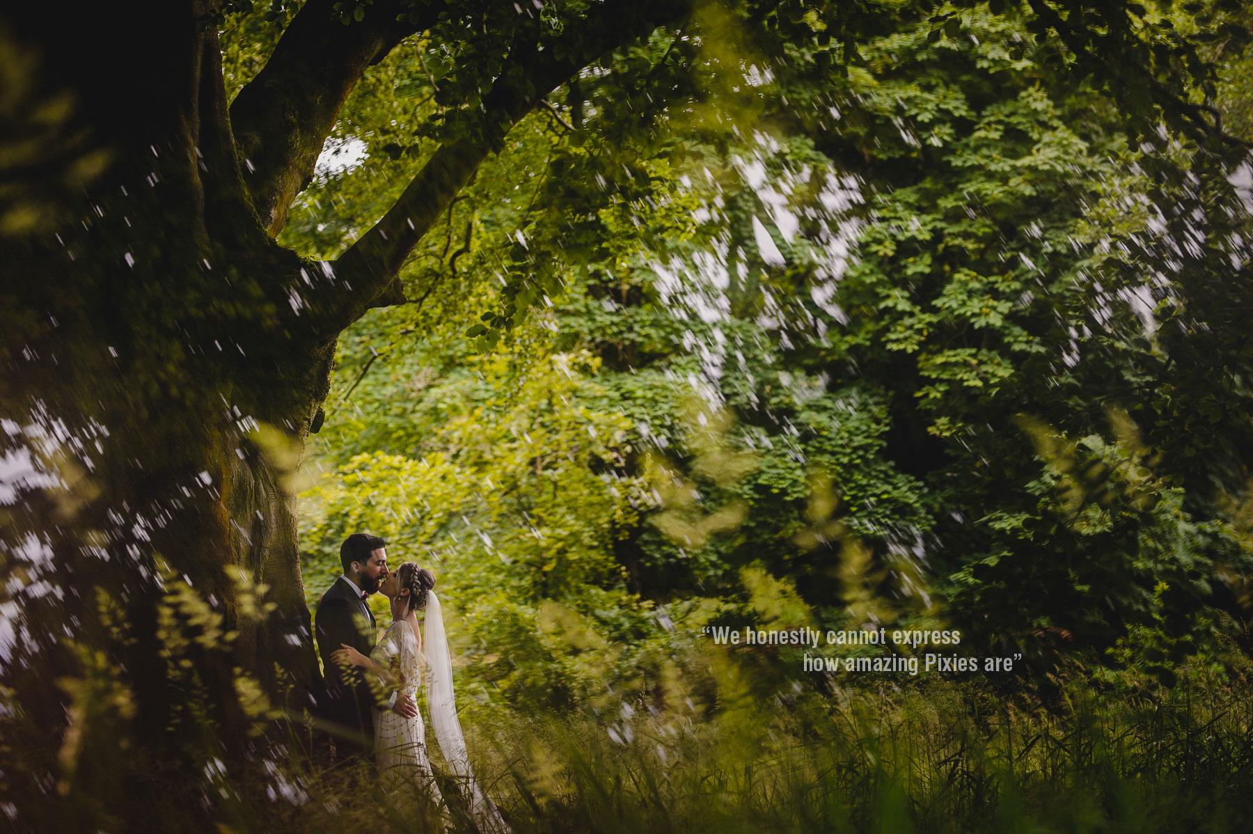 forest wedding in Lancashire