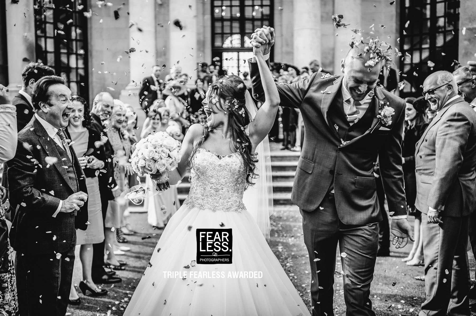 confetti-excited-bride-and-groom