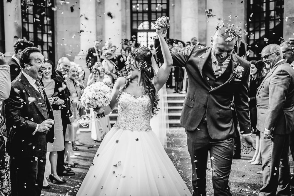 best wedding confetti moments