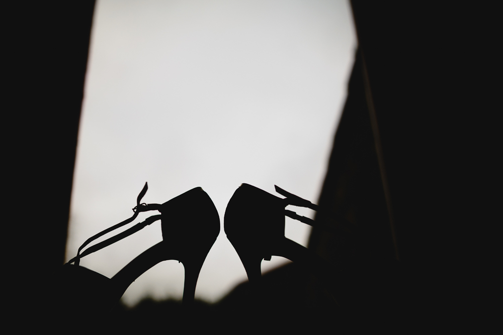 wedding shoe silhouette