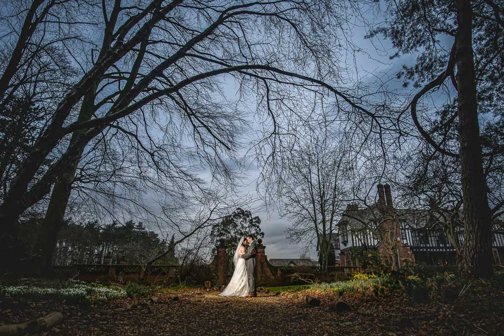 inglewood manor winter wedding