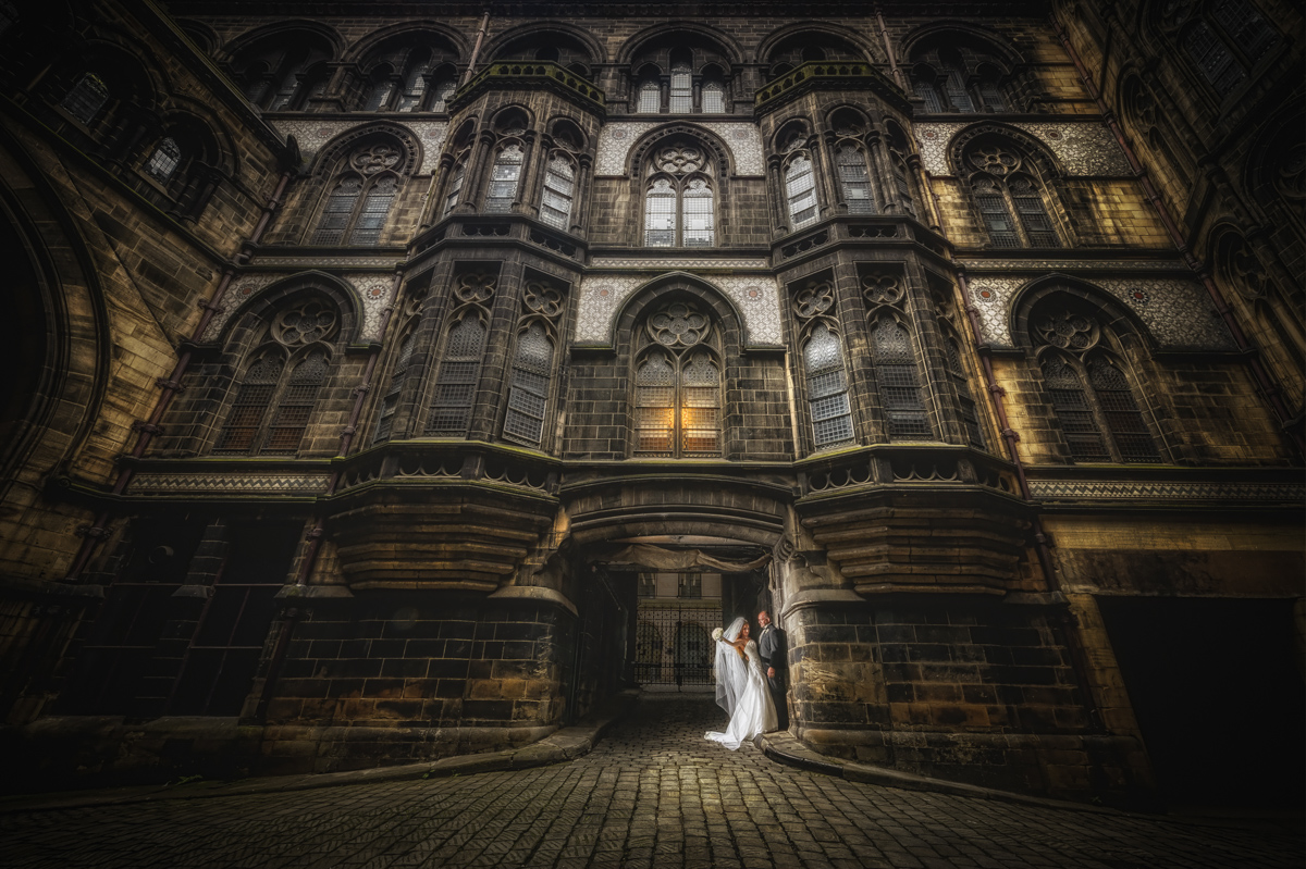 Manchester wedding photography gothic