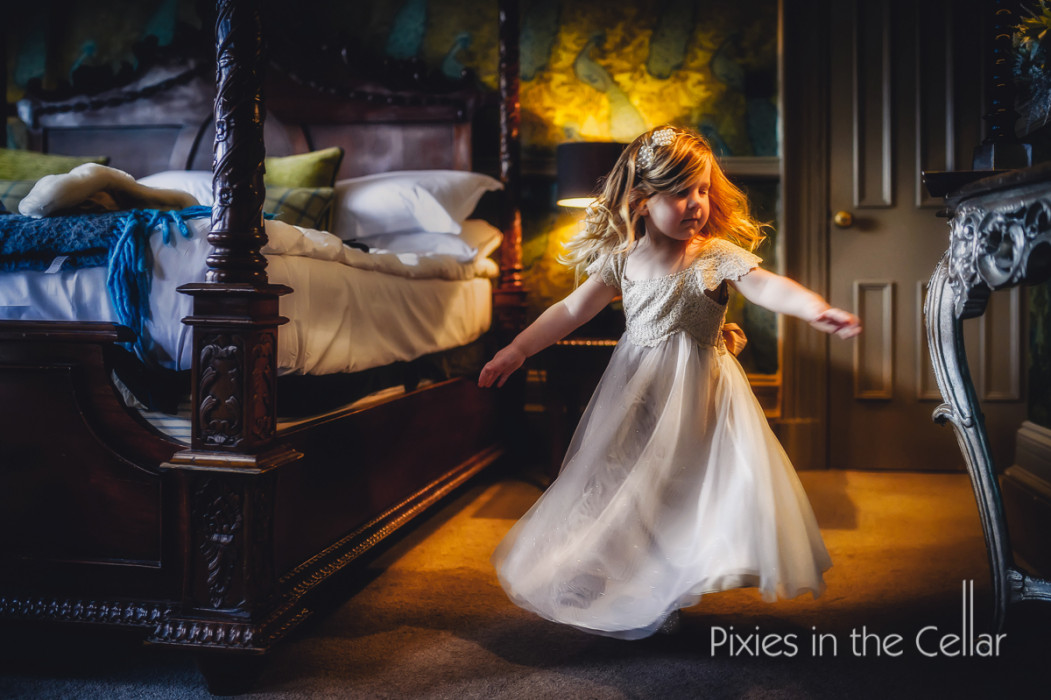 flowergirl twirling