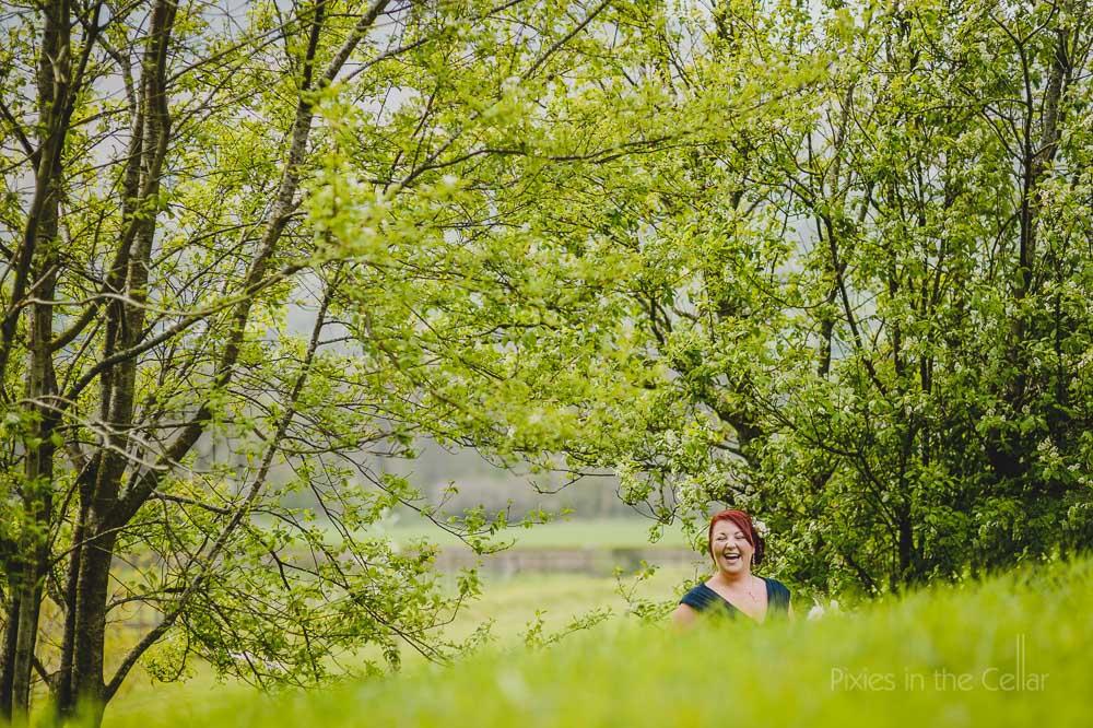 spring wedding England