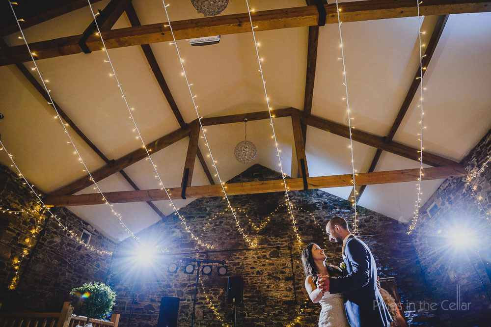 New House Farm first dance wedding