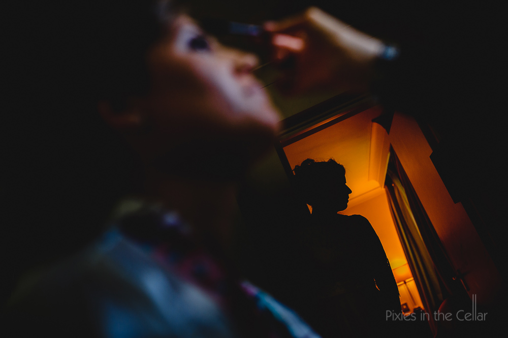 Lowry theatre wedding photography bridal preparations manchester