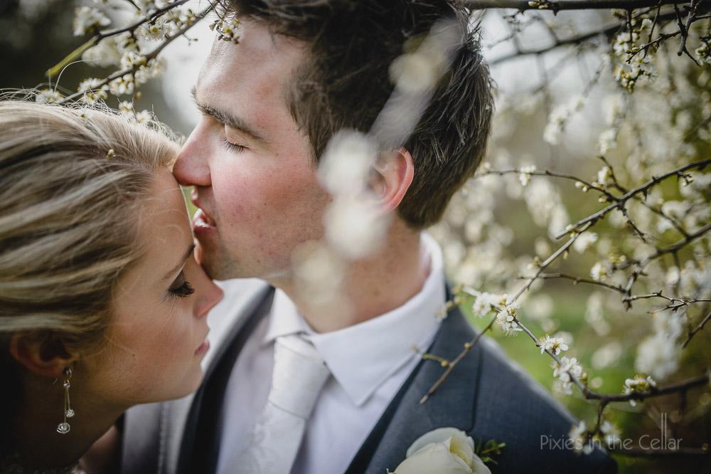 spring wedding blossom