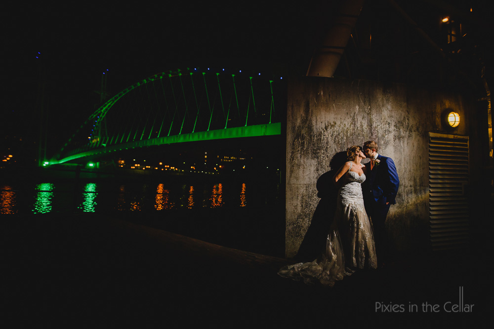 Salford Quays wedding photography