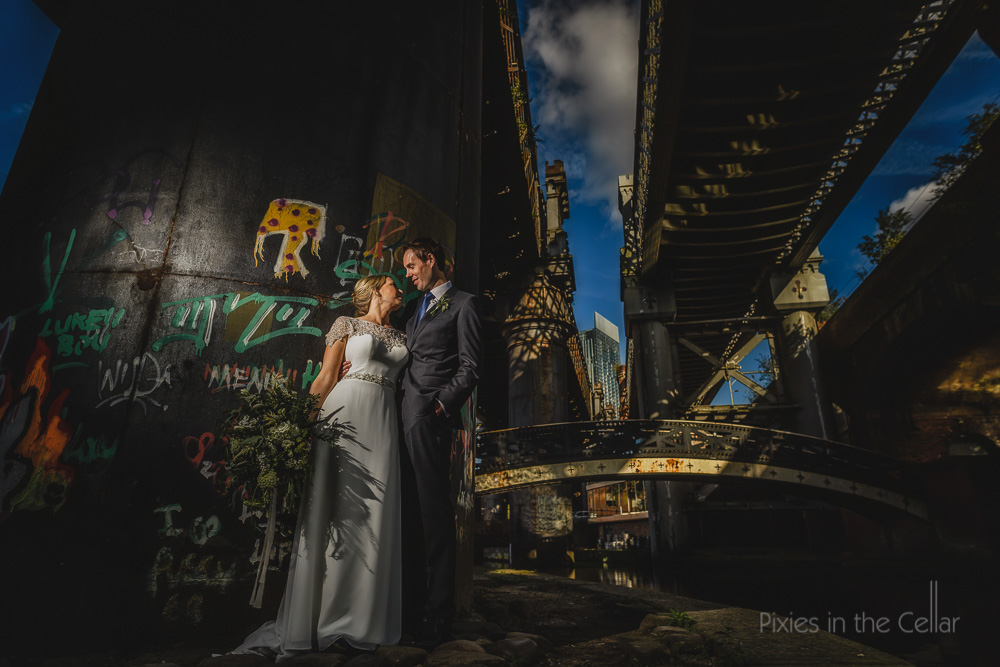 castlefield wedding photography manchester