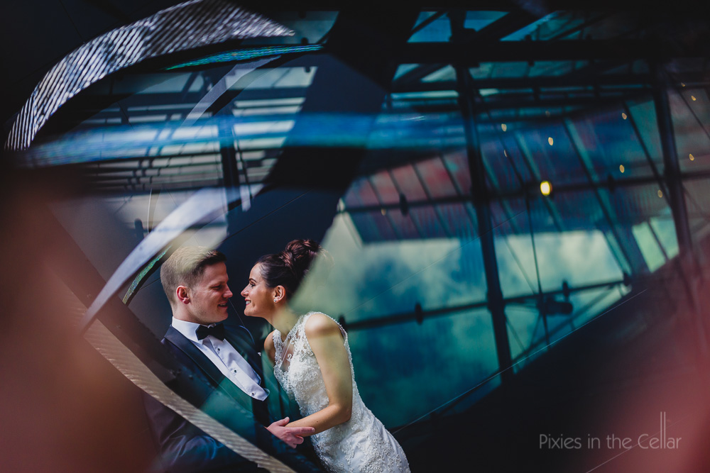 city black tie wedding