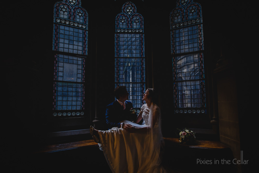 gothic dark wedding winter photography