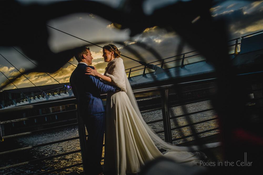 Salford Quays wedding photography