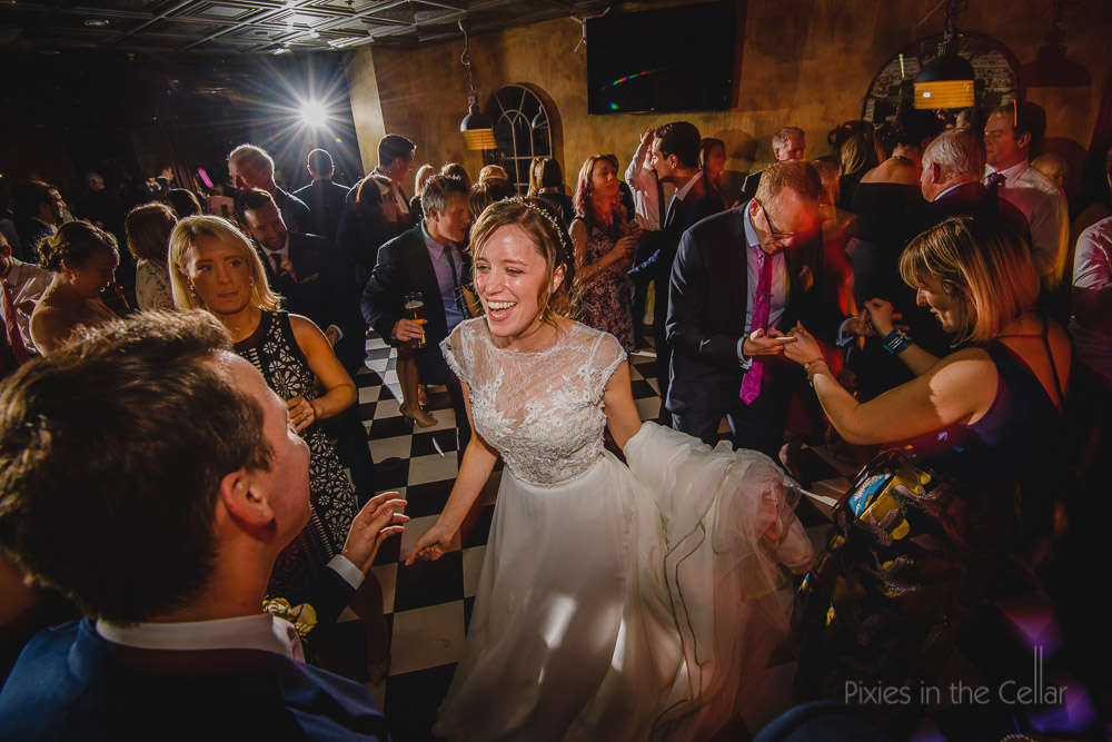 wedding party photography Manchester