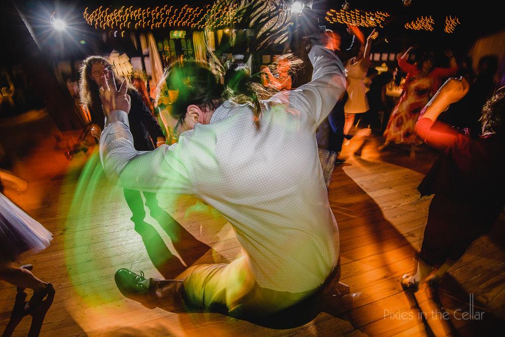 wedding dancing shutter drag