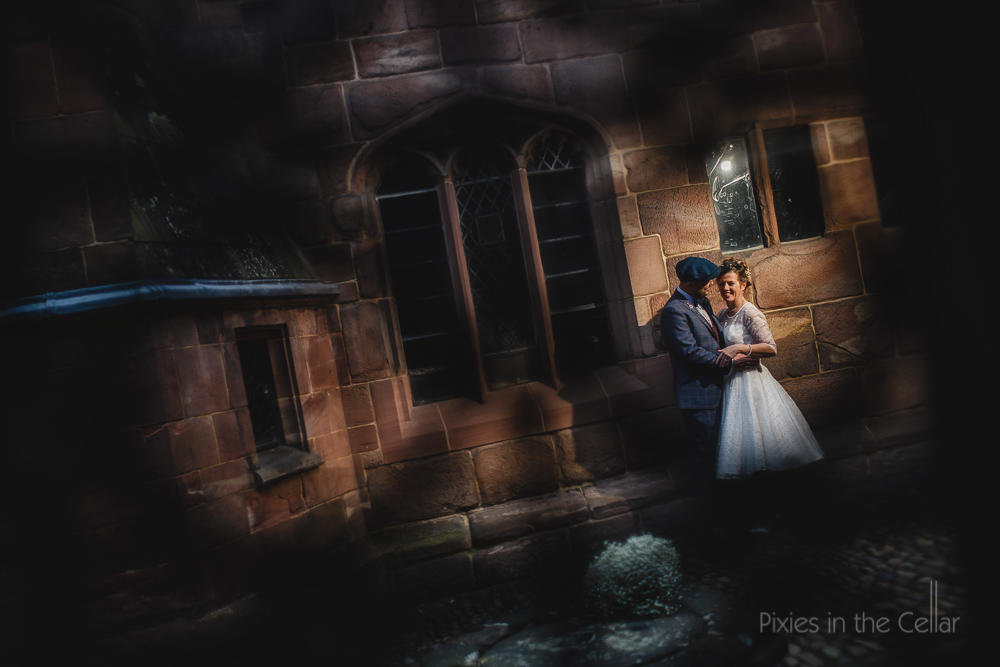 chethams wedding photography flat cap groom