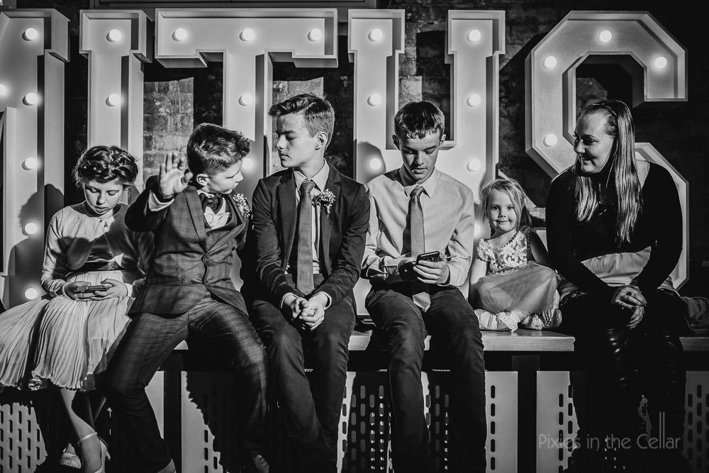 cool kids wedding documentary photo