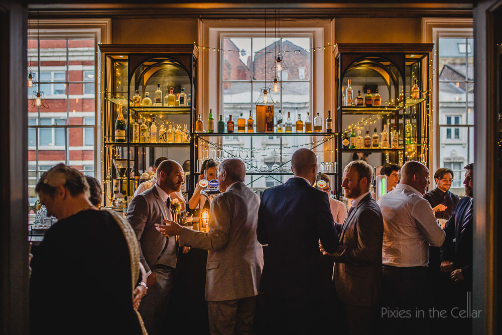 The Old Blind School Liverpool wedding reception