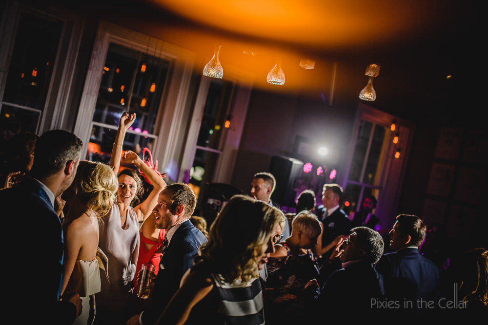 wedding party moves city centre wedding