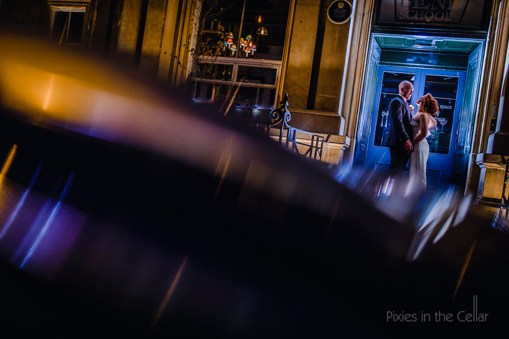Hope street wedding photography at The Old Blind School