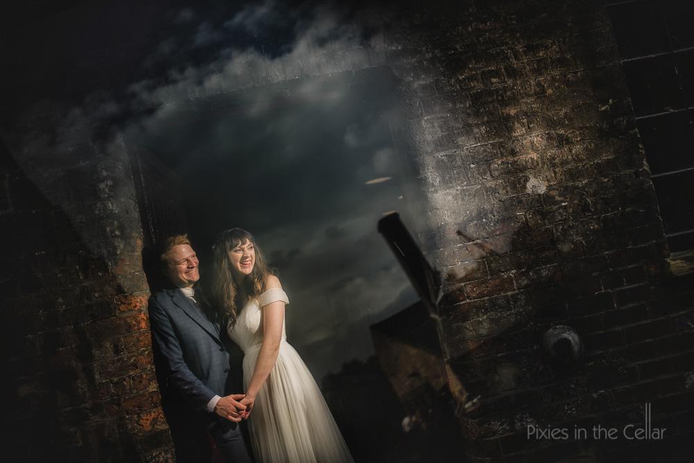 Industrial wedding photography uk