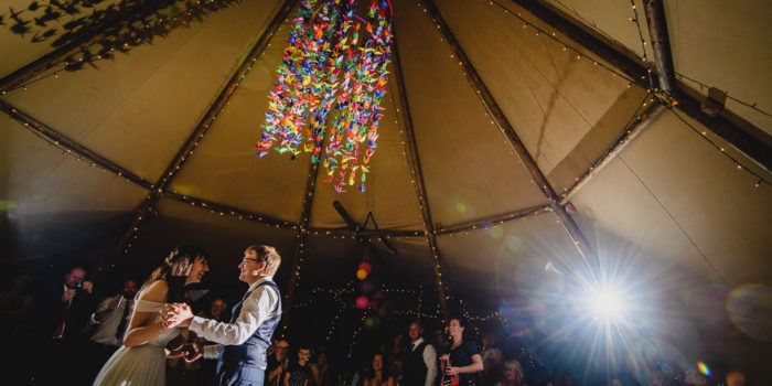 Tipi wedding photography yorkshire
