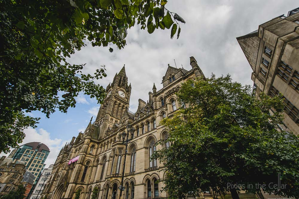 Manchester Town Hall photo