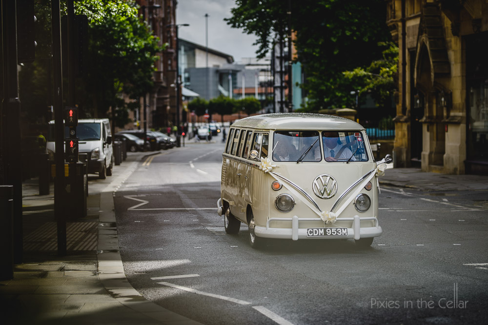 VW wedding camper van Manchester