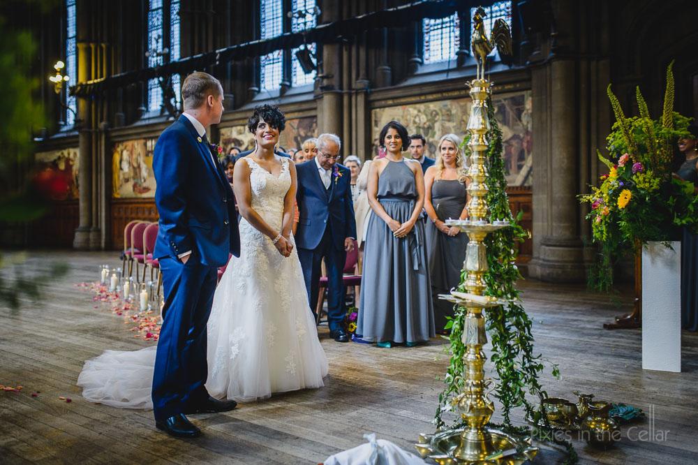 sri-lankan humanist wedding ceremony UK photography