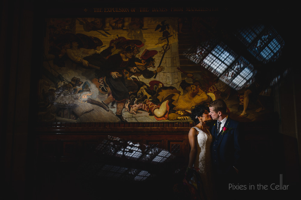 Manchester Great Hall wedding photography