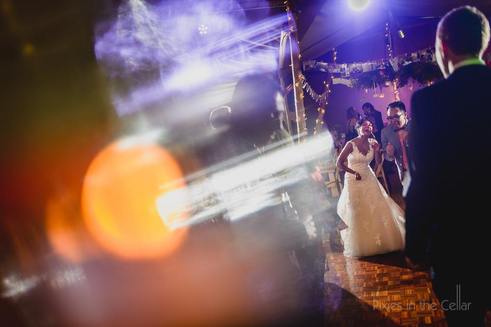Wedding party tipi