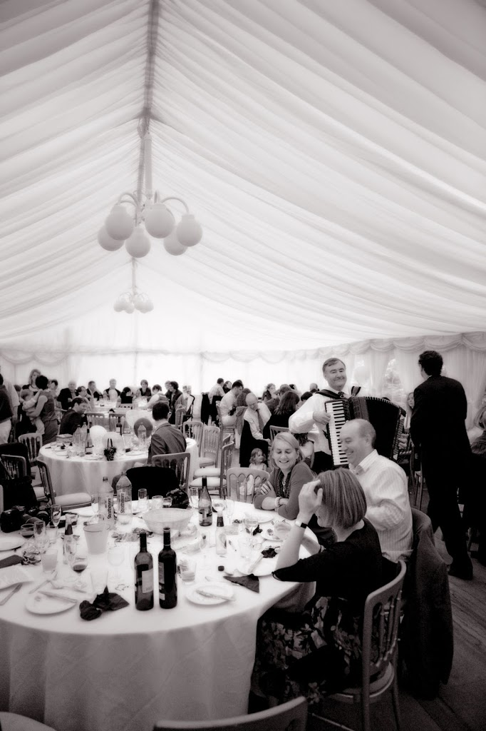 Hargate Hall Marquee wedding reception