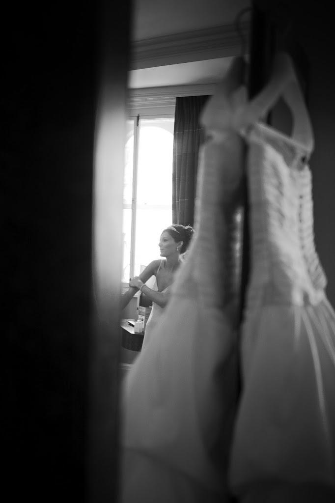 Midland Hotel bride getting ready