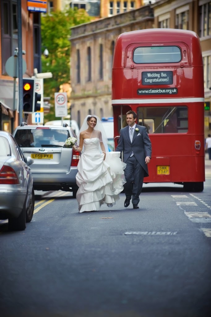 red bus manchester wedding
