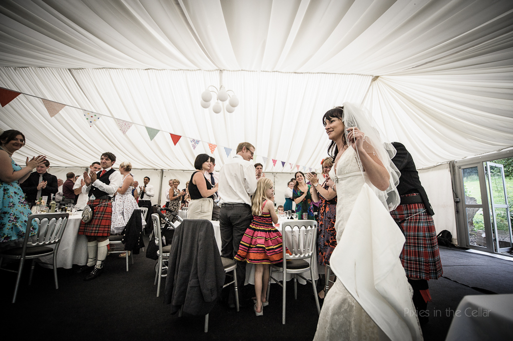 hargate hall wedding marquee