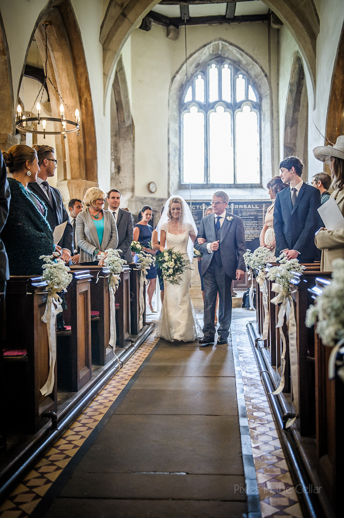 Wedding at St Wilfrids Church, Burnsall