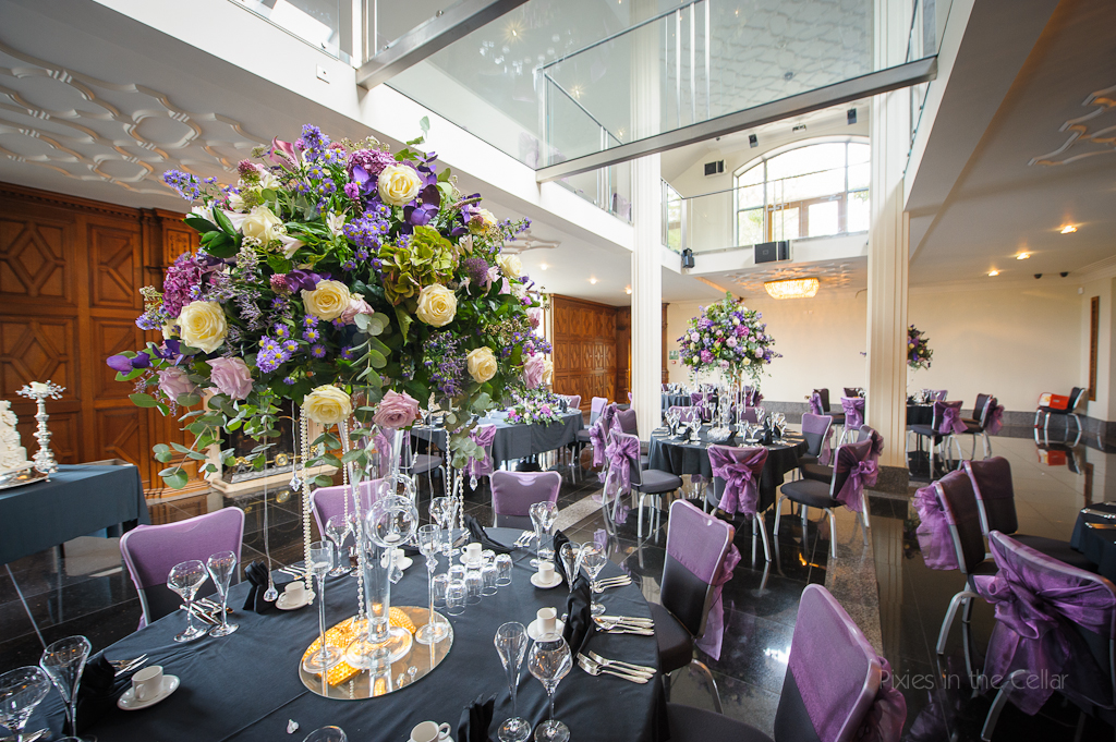 Kelly Louise's HUGE centre-piece displays