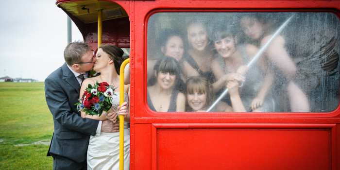 Joanna & Tim's 'London-Look' Wedding
