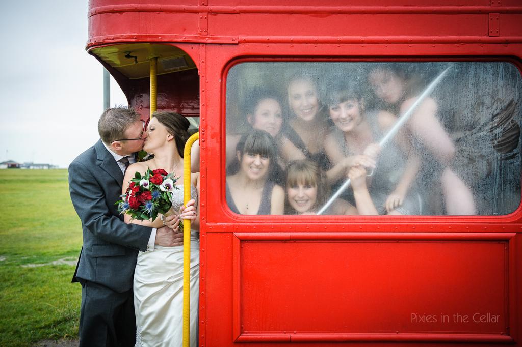 Joanna & Tim's 'London-Look' Wedding • 2012