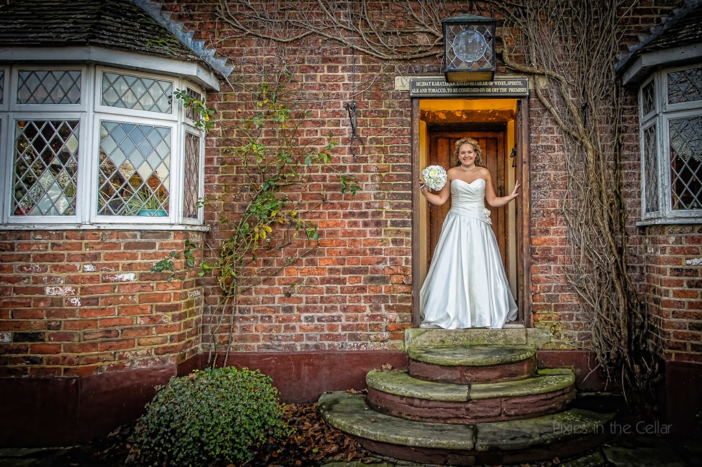 Plough Inn Eaton bride