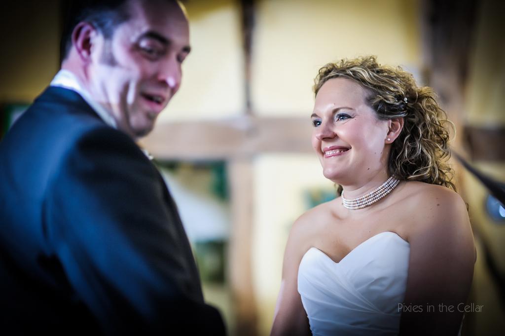 wedding ceremony emotion