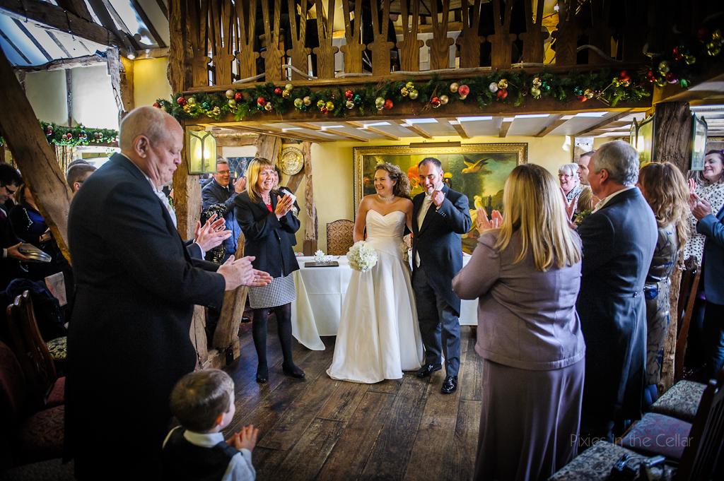 plough inn eaton wedding ceremony