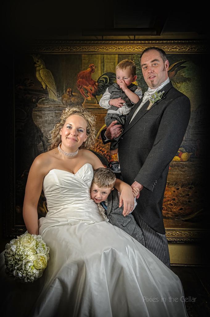 wedding family shot
