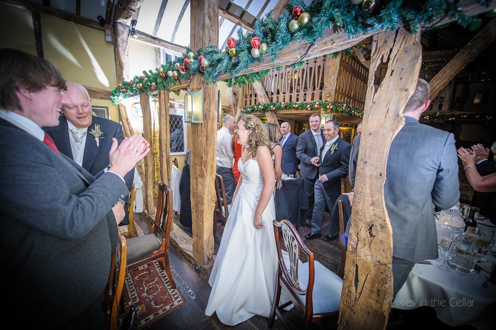 pub barn wedding reception