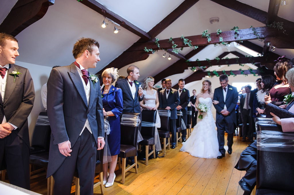 bluebell suite joshua bradley wedding ceremony