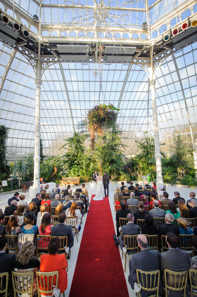sefton park palm house wedding for easter saturday
